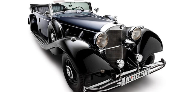 The four-door convertible was once owned by notorious Nazi relic collector Ralph Engelstad