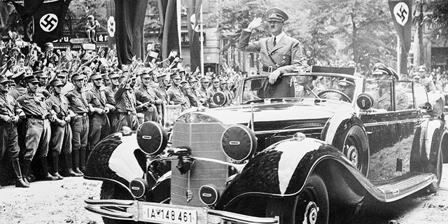 50b6e6d823 An infamous Mercedes-Benz used by Adolf Hitler to be auctioned in ...