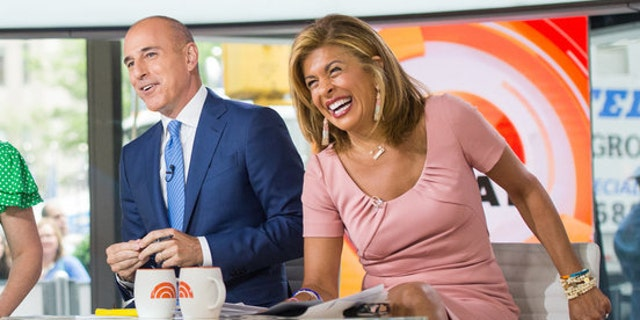 TODAY -- Pictured: Al Roker, Savannah Guthrie, Matt Lauer and Hoda Kotb  on Friday, June 16, 2017 -- (Photo by: Nathan Congleton/NBC)