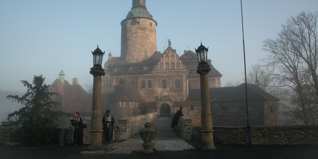 The College of Wizardry in Czocha, Poland.