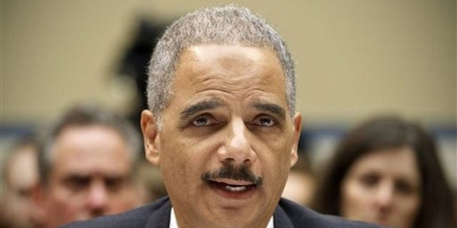 Feb. 2, 2012: Attorney General Eric Holder testifies on Capitol Hill in Washington.