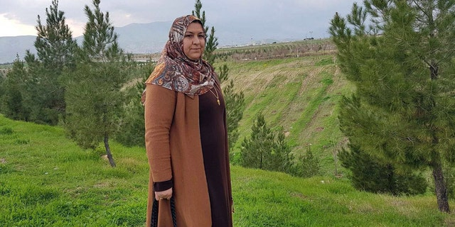 Hameda Hasan survived, but lost nine family members in the gas attacks.