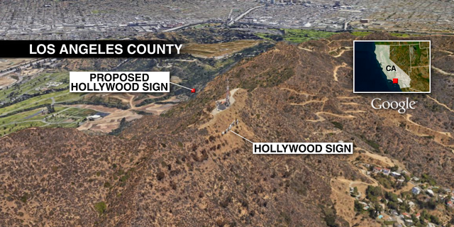 The Dixon Report, commissioned by the LA City Council, suggested building a replica sign on the north side of the slope to stem the influx of tourists.