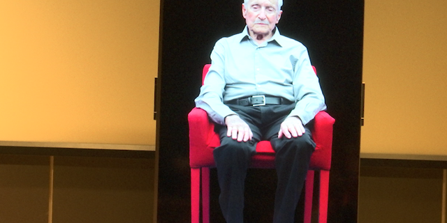 Stanley Bernath is a 92-year-old Holocaust survivor, among a few still alive. New technology will allow people to hear his heart-wrenching experience firsthand for decades, maybe even centuries – via an interactive hologram.