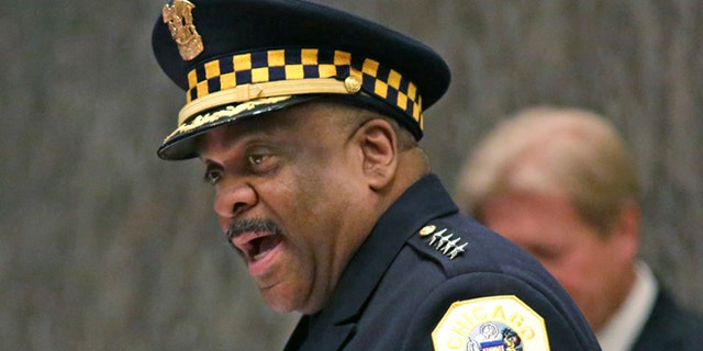 Eddie Johnson has been Chicago's top cop for the past three years. (Associated Press)