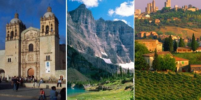 Oaxaca, Mexico, Montana and Italy's Tuscany are three romantic honeymoon destinations for food lovers.