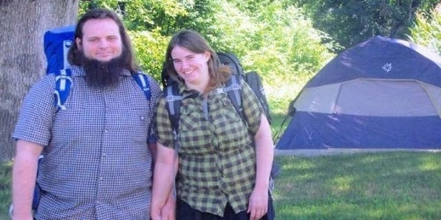 Newly married Joshua Boyle and Caitlan Coleman shortly before heading to Afghanistan where they were held captive for five years.
