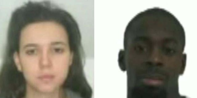 Police identified Hayat Boumeddiene and Amedy Coulibaly as the suspects in the grocery store hostage situation in Paris. Coulibaly was killed by police, while Boumeddiene is reportedly unaccounted for.