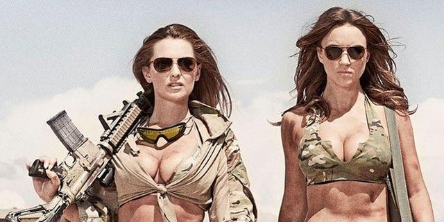 """An image taken from the """"Hot Shots Calendar"""" website."""