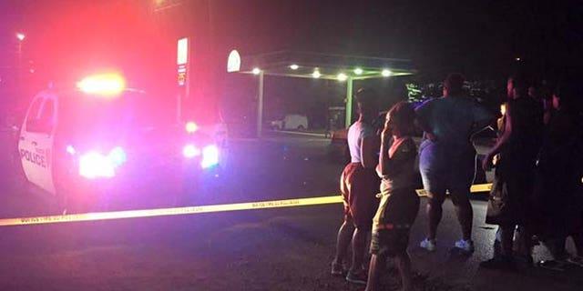 Houston police investigate police-involved shooting early Saturday. (Fox Houston)