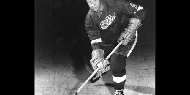 Gordie Howe in 1966.
