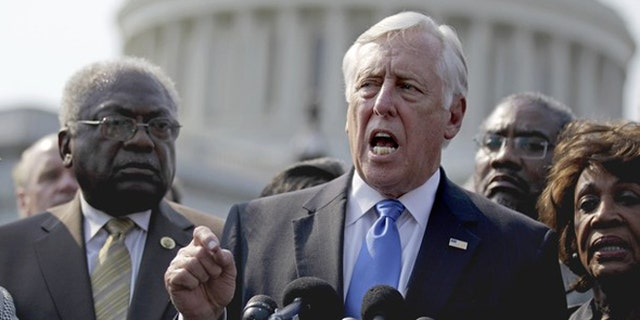 House Minority Whip Steny Hoyer, who led the Democratic delegation to Israel, says he is undecided about the Iran deal.