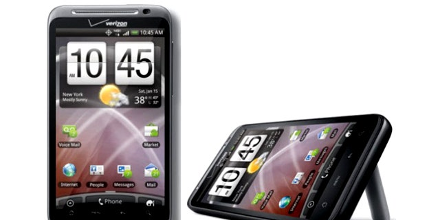 The fast HTC Thunderbolt, the newest 4G smartphone from Verizon.