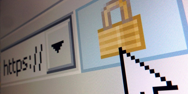 April 15, 2014: A lock icon, signifying an encrypted Internet connection, is seen on an Internet Explorer browser in a photo illustration in Paris.