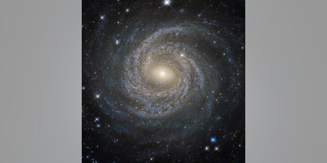 File photo: A NASA/ESA Hubble Space Telescope image shows a spiral galaxy NGC 6814, whose luminous nucleus and spectacular sweeping arms, rippled with an intricate pattern of dark dust, is a highly variable source of X-ray radiation, causing scientists to suspect that it hosts a supermassive black hole with a mass about 18 million times that of the Sun. (Courtesy NASA/Handout via REUTERS)