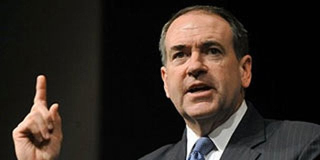 File -- Former Arkansas Gov. Mike Huckabee