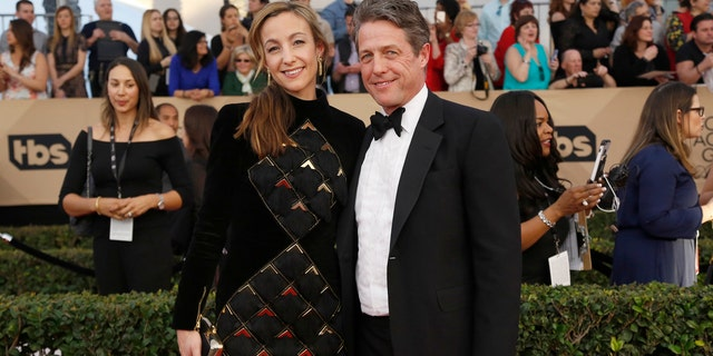 Here Grant and Eberstein attend the 23rd Screen Actors Guild Awards in Los Angeles, California, U.S., January 29, 2017.