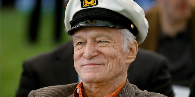 "Hefner launched ""Playboy"" in 1953."