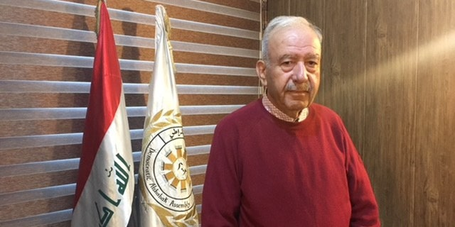 Hunien Kaddo, an Iraqi Parliment member and representative of the Shabak community