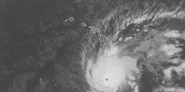 The National Weather Service's Central Pacific Hurricane Center expects Lane to move very close to over Hawaii from Thursday through Saturday