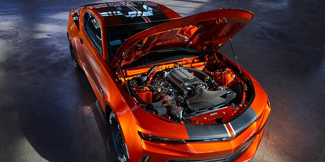 Only 69 of the COPO Camaros are built annually.