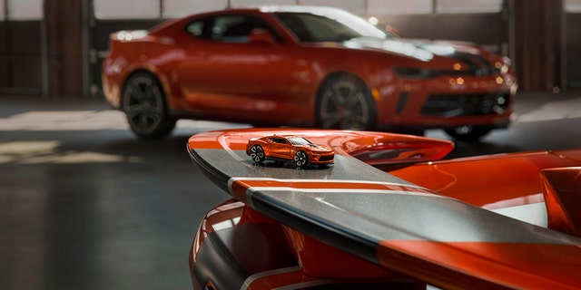 If you're not in the market for a sports car you can still take home a souvenir.