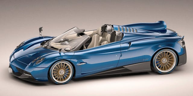 All 100 of the original Pagani Huayra Roadsters were sold for $2.5 million or more.