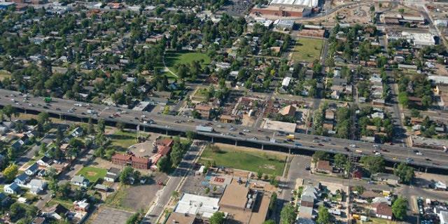 I-70 in Denver, Colorado