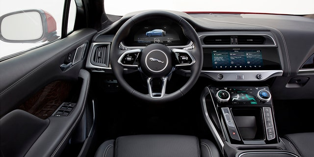 The I-Pace interior shares a lot of equipment with other vehicles in the Jaguar/Land Rover family.
