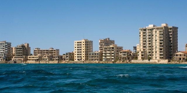deserted town Varosha in Northern Cyprus