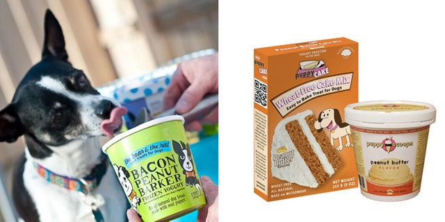 These all natural ice cream treats are made just for dogs.