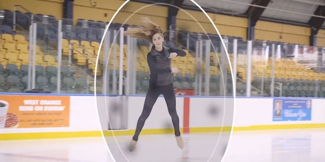 """Sinead Kerr, an ice dancer and two-time Winter Olympian, says competing is """"phenomenal."""""""