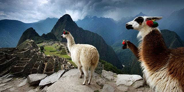 Peru. Machu Picchu.