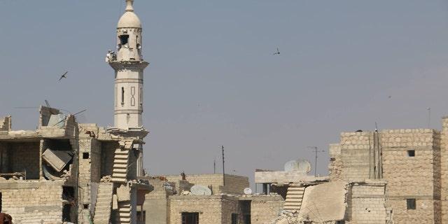 Decimated Idlib