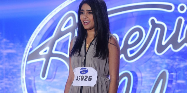 "Sonika Vaid auditions for ""American Idol."""