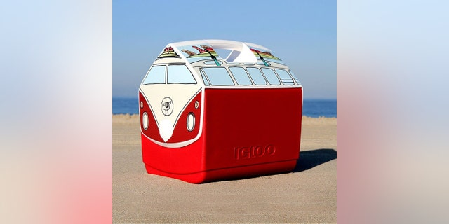 igloo cooler vw surfboards microbus shaped makes foxnews