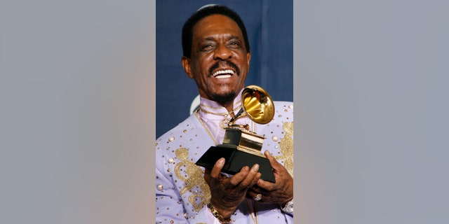 Ike Turner at the 2004 Grammys.