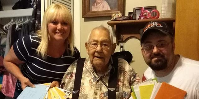 Ike Fabela, a WWII veteran, turned 100 on June 6.