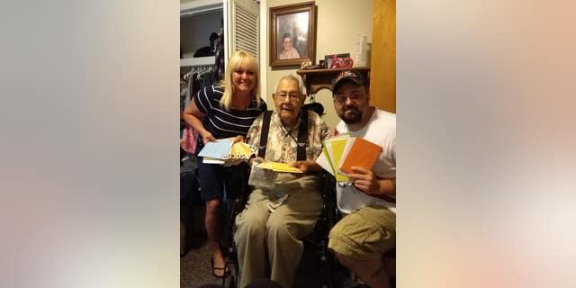 Ike Fabela, a WWII veteran, turned 100 on June 6.