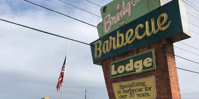 Restaurant owner Debbie Webb says her parents opened the the barbecue joint in the 1940s.