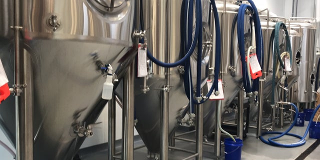 """""""Tanks are made out of stainless steel. The canning line is made out of steel. The cans that we would use are made out of aluminum,"""" Hank Hanna, co-owner of Commonhouse Aleworks says."""