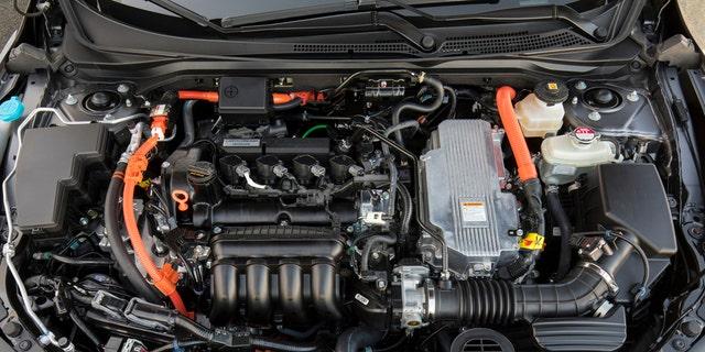 Honda says the hybrid sedan will get 50 mpg or better.