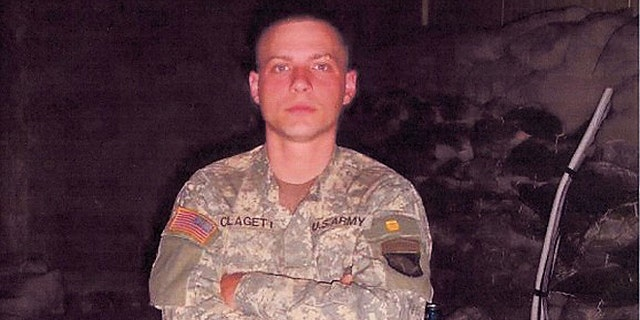 Clagett believes he was a positive force while serving in Iraq.