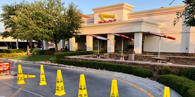 In-N-Out Burger executive vice president Bob Lang Jr. announced the closures were not due to a food safety concern.
