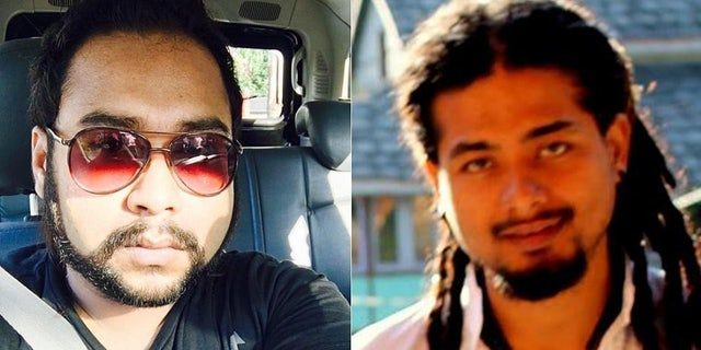 Abijeet Nath, left, and Nilotpal Das, right, are among the more than 20 people killed by violent mobs, fueled by rumors on WhatsApp, in India.