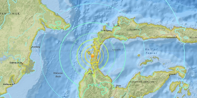 A magnitude 7.5 quake struck Indonesia on Friday.
