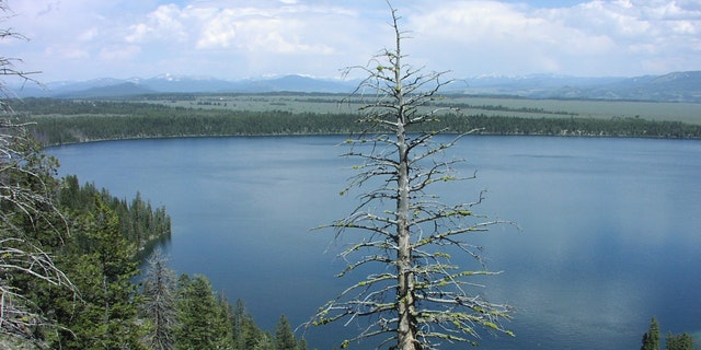 A view of Jenny Lake as seen from Inspiration Point, one of the areas closed by Grand Teton National Park officials.