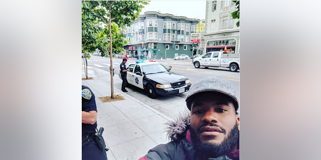 Viktor Stevenson, the owner of Gourmonade, said four San Francisco Police Department officers approached him last week when he was checking the security system of his lemonade kiosk. One officer, according to him, had a hand on his gun.