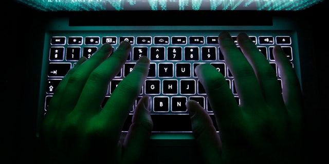 A man types on a computer keyboard in this illustration file picture. (Reuters)