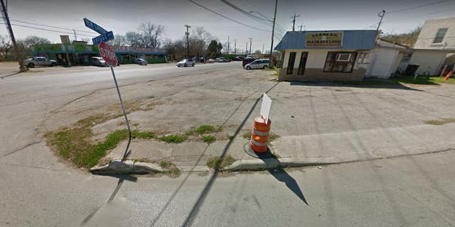 A 3-year-old boy traveling in his family's car was reportedly shot around this San Antonio intersection late Saturday night. The child died at a hospital.